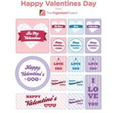 Free Valentines Day Stickers.
