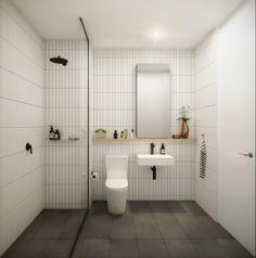 "94 Feet - ""SALT"" Interior Bathroom House Bathroom, Bathroom Styling, Bathroom Interior, Minimalist Showers, Restroom Design, Interior, Bathroom Design, Interior Design Restroom, Bathroom Remodel Master"