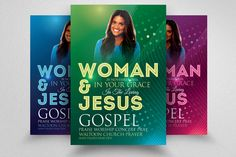 Woman of God Church Flyer by @Graphicsauthor