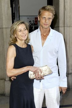 Claire Chazal Satin Clutch - Claire Chazal carried herself stylishly—especially with a vintage-inspired gold satin clutch at her side.