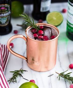 I can't believe the holidays are quicklyapproaching. I'm looking forward to all of my holiday plans this year like entertaining friends and loved ones. One of my favorite holiday drinks I like to serve my guest is my Holiday Moscow Mule recipe. The sweet/tart taste of cranberry juice, ginger beer, gin, and the fragrant rosemary...Continue Reading