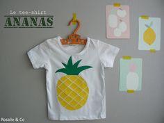tee shirt ananas