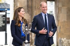 The Duke and Duchess of Cambridge, both 38, during their visit to St Bartholomew's in the ...
