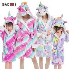 NWT Justice Girls Aqua Plush Koala Bath Robe U Pick Size NEW