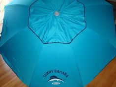 Tommy Bahama 7 Ft Beach Umbrella with Sand Anchor and Tilt SPF 100 - Blue by Tommy Bahama, http://www.amazon.com/dp/B006RYPIQO/ref=cm_sw_r_pi_dp_NTVtrb08BVKHG