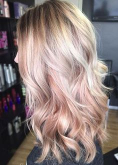 21 Rose Gold Hairstyles That Are Total Hair Goals – SOCIETY19