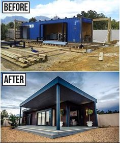 Building A Container Home, Container Buildings, Container House Plans, Container Architecture, Cargo Container, Container Design, Container Store, Shipping Container Cabin, Shipping Container Home Designs