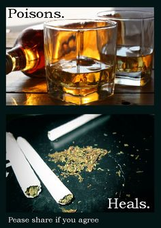 Marijuana vs. alcohol