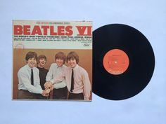 The Beatles - VI - Vinyl Record LP - RIAA Gold Record Award (ST-2358) #BritishInvasion