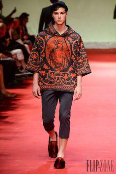 Dolce & Gabbana Primavera-Verano 2015 - Para hombre - http://es.flip-zone.com/fashion/menswear/dolce-gabbana-4767