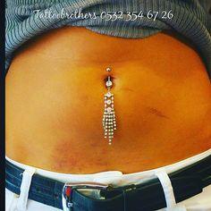 Göbek piercing. Tattoobrothers dövme stüdyosu. 0532 354 67 26. #tattoobrothers #piercing #septum #piercings #girl #pierced #love #tattoos #bodypiercing #bellybutton #bodymodification #followme #girlswithpiercings