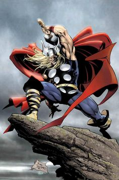 Thor by Mike Deodato Jr. #MikeDeodatoJr #Thor #Asgard #Avengers #OdinSon #DonaldBlake #GodofThunder #Mjolnir