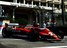Gilles Villeneuve Ferrari 1982