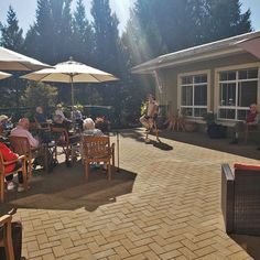 We celebrated Oktoberfest in style with authentic German music and food here at Gilmore Gardens Retirement Residence in Richmond! Prost! 😄 #vervecares #community #Oktoberfest #germany #german #sausage German Sausage, New Tricks, Retirement, Germany, Gardens, Community, Patio, Music, Outdoor Decor