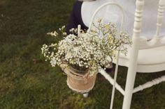 Panier champêtre pour cérémonie laïque Photo: Gaël Sacré Déco: OrgaDiEventi