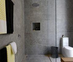 bathroom design stone timber - Google Search