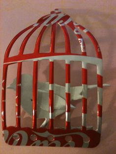 birdcage out of coke can