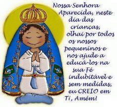 Porque Orar nunca é demais, ainda mais com Nossa Senhora nos abençoando. Mae Maravilhosa, Nossa Senhora Aparecida, rogai por nós, Amém