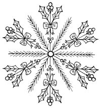 Best Ideas for embroidery patterns christmas snowflakes Paper Embroidery, Embroidery Applique, Cross Stitch Embroidery, Embroidery Designs, Snowflake Embroidery, Christmas Embroidery Patterns, Noel Christmas, Christmas Colors, Christmas Crafts