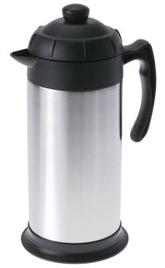 GSI Outdoors Glacier Stainless 1-Liter Java Press - Commute Coffee Coffee Cups, Coffee Maker, Thai Tea, Freeze Drying Food, Camping Coffee, Camping Essentials, French Press, Java, Kettle