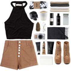 FAVES TAG by celestria on Polyvore featuring polyvore, fashion, style, Abercrombie & Fitch, HUF, Jeffrey Campbell, Monki, NARS Cosmetics, MAC Cosmetics, Eight & Bob, Aesop, Abyss & Habidecor, Moleskine, LEXON, D.L. & Co., Crate and Barrel, Eva Solo, BRAD Biophotonic Skin Care and bedroom