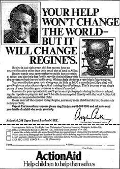 ActionAid. 24 December, 1982