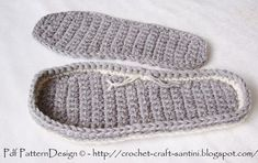 how to add soles to crochet sandals and slippers | Crochet Slipper Sole Pattern