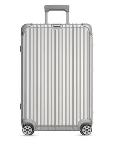 - Ribbed spinner trolley with ample for your essentials- Telescoping handle- Spinner wheels- x x Aluminum- Imported Luggage Sets, Travel Luggage, Travel Bags, Travel Trip, Outdoor Stove, Rimowa, Picnic Bag, Handbags For Men, Big Bags