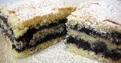 Mennyei Mákos sütemény recept! Ez a sütemény a mákkedvelők kedvence lesz! Egy igazi házias jellegű varázslat, mely gyorsan, és egyszerűen elkészíthető, akár különösebb rutin nélkül is! Poppy Seed Cookies, Poppy Cake, Hungarian Recipes, Quick Bread, Something Sweet, Cheesecake, Dessert Recipes, Food And Drink, Yummy Food