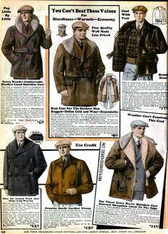1930 Spiegel Catalog fashions. Winter Wear.