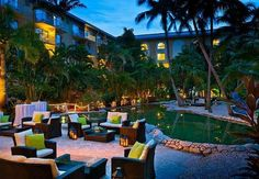 Marriott Grand Cayman Beach Resort: Courtyard