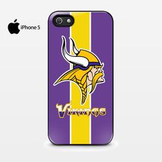 NFL Minnesota Vikings Football iPhone 5 5s Case Cover.... If only I had an iPhone... not a samsung...