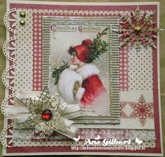De kaarten van ons Mam: ...Kerstkaart(en) week 3...