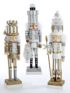 Kurt Adler Wood Nutcracker Set