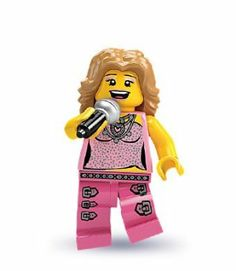 LEGO - Minifigures Series 2 - POP STAR by LEGO. $1.95. Includes all accessories and stand.. This one goes out to all my fans! The Pop Star is at the top of the charts. Her last three albums went platinum and her videos are in non-stop rotation on all the music channels. She travels the world in limos and private jets and has more fans than she knows what to do with. No matter how famous she gets, though, the Pop Star is still a normal girl who dances around her bedroom ...