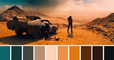 This Tweeter Posts Color Palettes From Famous Movie Scenes | Bored Panda