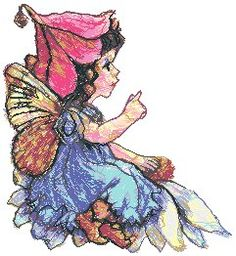 Advanced Embroidery Designs - Flower Fairy