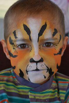 tigger face painting  J.Broomhall makeup artist & body art