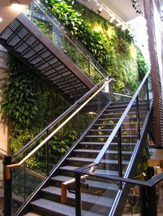 My Favorite Garden Design Vertical Garden Design, Vertical Gardens, Green Scenery, Green Apartment, Garden Stairs, Residential Architect, Interior Garden, Plant Wall, Deck Design