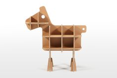 Cardboard toys and furniture for kids   Tsuchinoco