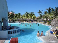 Iberostar playa Alameda-Varadero Cuba.  One of the best all inclusives we've ever been to.  Small but great resort.