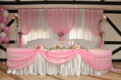 sweet pink wedding