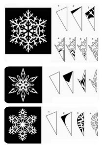 christmas decor diy -- snowflake pattern inspiration