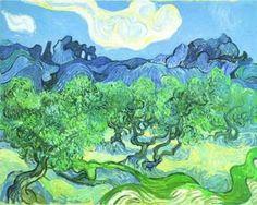 The Olive Trees, Vincent Van Gogh Tavlor & Posters från Easyart.se