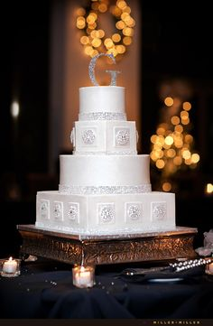 LOVE THIS for a new years eve wedding