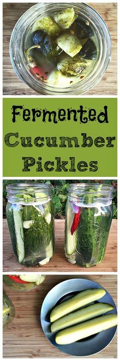 A simple to make fermented vegetable, these cucumber pickles are also super tasty!
