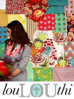 Anna Maria Horner fabrics = awesome!