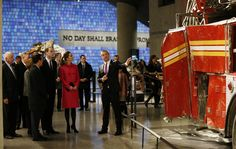 9 Dec 2014: The Duke and Duchess of Cambridge pay tribute at World Trade Centre memorial