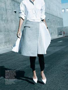 Amy Hixson for Elle UK December 2014