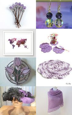 Purple on Etsy by styledonna on Etsy--Pinned+with+TreasuryPin.com